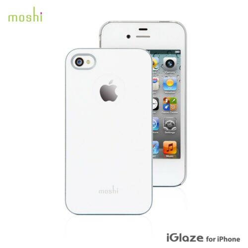 Moshi iGlaze Ultra Thin Snap On Case Cover For iPhone 4S & 4 - White