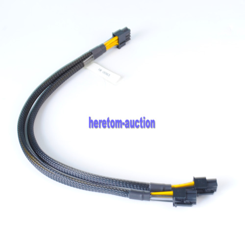 8pin to 6+6pin Power Adapter Cable for IBM X3650 M4 M5 to GPU video card 35cm
