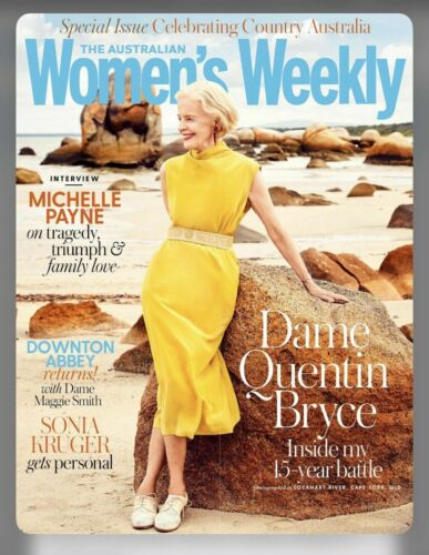 The Australian Women's Weekly Magazine September 2019 Dame Quentin Bryce AWW NEW