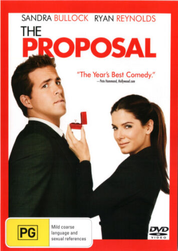 The Proposal  - DVD - NEW Region 4