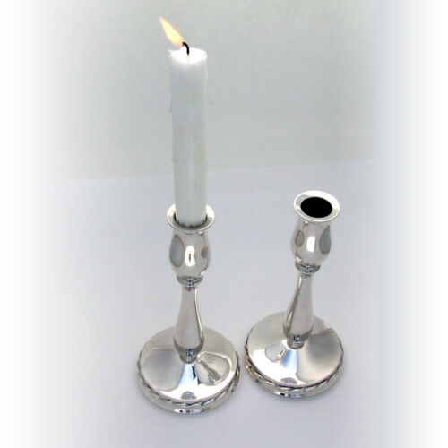 Towle Silver Flutes Candlesticks Pair Weighted Sterling Silver