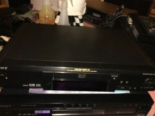 SONY DVP-S330 CD - DVD - Video CD Player Deck - WORKS PERFECTLY