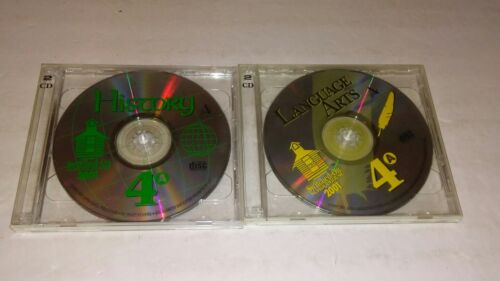 Switched On Schoolhouse 2001 Language Arts & History 4th Grade LOT