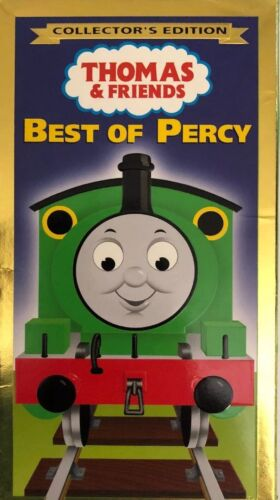 Thomas & Friends BEST OF PERCY Collector's Edition VHS 2001 TESTED-RARE-SHIP 24H
