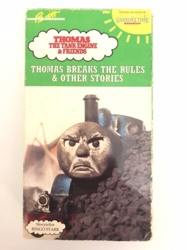 Thomas the Tank Engine & Friends Breaks Rules VHS-TESTED-RARE-SHIP 24