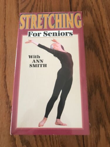 STRETCHING FOR SENIORS With Ann Smith VHS  Ships N 24h