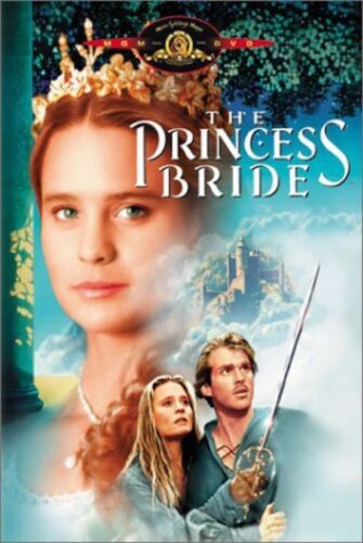 VHS - The Princess Bride starring Cary Elwes Mandy Patinkin