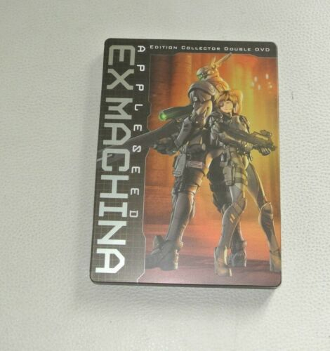 """"""" Appleseed Ex Machina """" Edition Collector, Housing Metal Double DVD"""