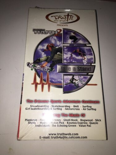 The Moment of Truth 2 TAKE A STAND Extreme Sports w/Music RARE SEALED SHIP N24HR