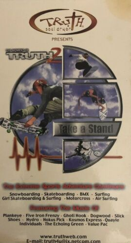 The Moment of Truth 2 TAKE A STAND Extreme Sports w/Music RARE VINTAGE SHIP24HRS