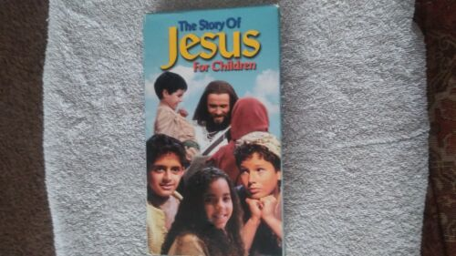 Story of Jesus for Children (VHS) / Collectable