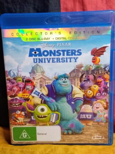 Monsters University (Blu-ray, 2-Disc, 2013)