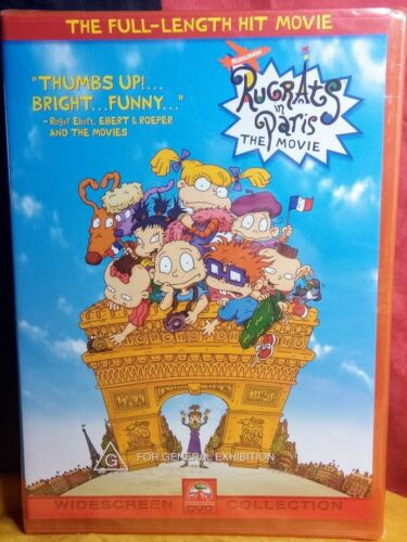 Rugrats In Paris - The Movie (DVD, 2003) - Brand New