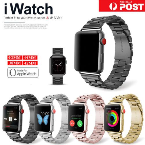 For Apple Watch iWatch Series 5 4 3 2 1 Stainless Steel Watch Band 38/42/40/44mm <br/> ⭐FAST DISPATCH ⭐WATERPROOF⭐LIMITED TIME ONLY⭐SYD STOCK⭐