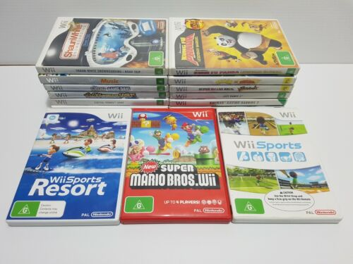Good condition Nintendo Wii Games: Choose many you like ✔✔✔Combined Postage✔✔✔