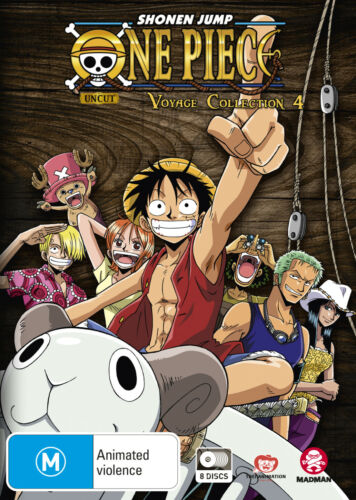 ONE PIECE VOYAGE COLLECTION 4 (EPISODES 157-205) DVD NEW