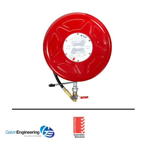 Galvin Engineering - Red Emperor® F Series Standard Fixed Fire Hose Reel with S