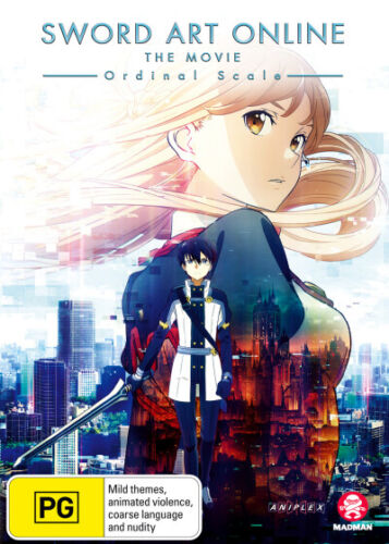 Sword Art Online: The Movie: Ordinal Scale  - DVD - NEW Region 4