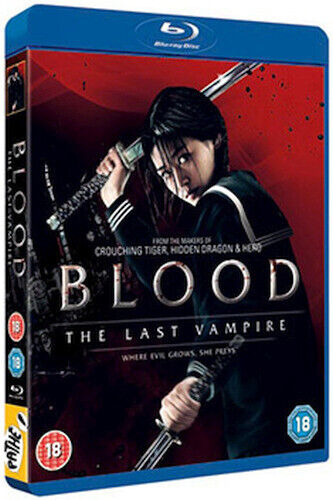 BLOOD - THE LAST VAMPIRE BLU-RAY [UK] NEW BLURAY
