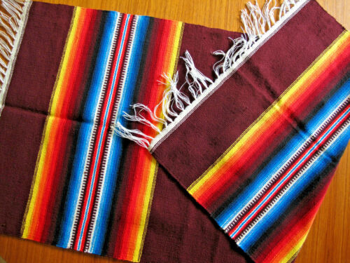 Fabulous Ortegas Chimayo Wall Hanging Carpet Table Runner New Mexico