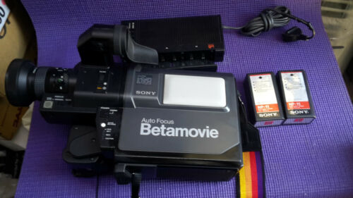 Vintage Rare Sony Betamovie Beta Camera Model:BMC-200P w/ Charger