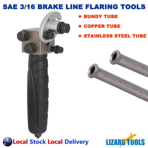 "Classic Land Rover SAE 3//8/"" UNF 3//16/"" Copper Brake Pipe Flaring Restoration Kit"