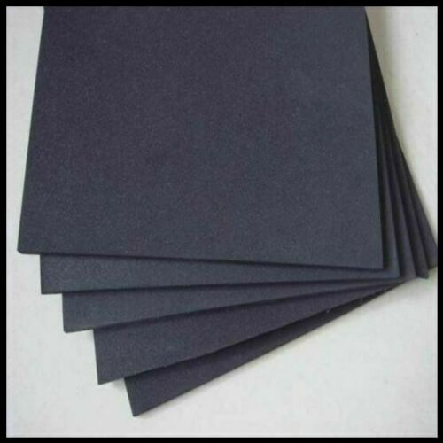 CLOSED CELL NEOPRENE FOAM 300MM X 214MM A4 CHOOSE THICKNESS CHOOSE BACKING   HYT