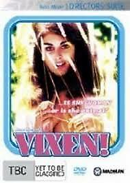 RUSS MEYER'S VIXENS DVD NEW & SEALED REGION 4 DIRECTOR'S SUITE (RARE)