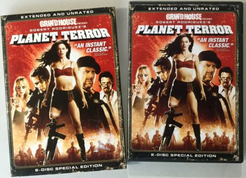 Planet Terror Extended And Unrated DVD (Region 1)