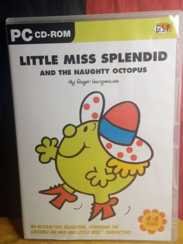 Little Miss Splendid and the Naughty Octopus PC CD-ROM