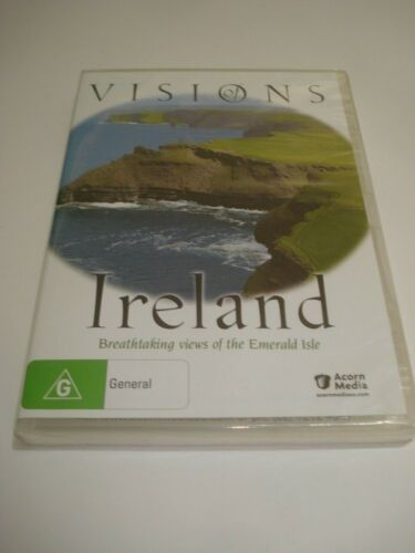 VISIONS OF IRELAND BRAND NEW SEALED ALL REGION DVD FREE POSTAGE