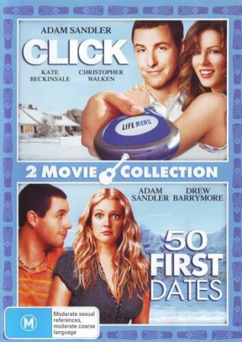 Click / 50 First Dates (2 Movie Collection)  - DVD - NEW Region 4
