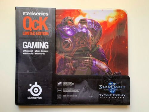 STEELSERIES QcK STARCRAFT 2 II TYCHUS FINDLAY EXCLUSIVE PC MOUSEPAD MOUSE MAT