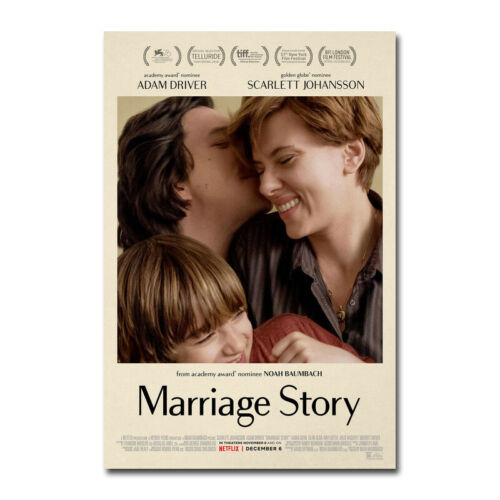 Marriage Story Movie Poster Art Canvas Silk Film Poster Print 12x18 24x36 inch