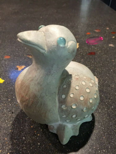 Isabel Bloom ** DUCKLING ** Retired Glass Eyes 1 Signature Duck