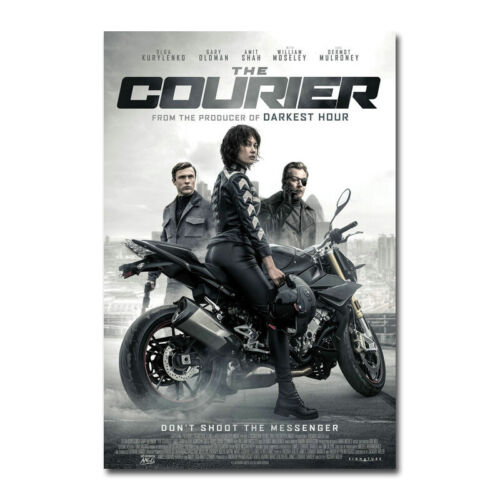 The Courier Movie 2019 New Silk Poster Canvas Print 12x18 24x36 inch