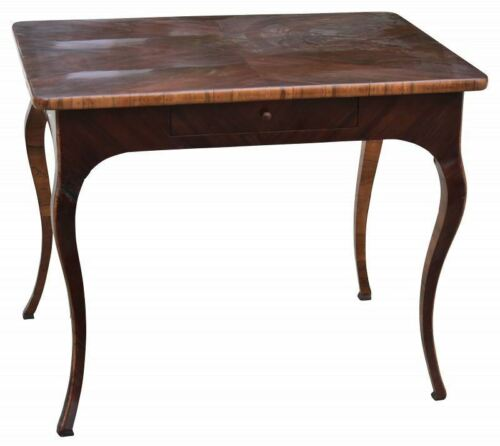 Italian Rococo Rosewood and Fruitwood End Table