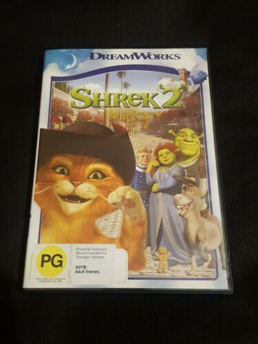 Shrek 2 Movie - Pre Owned DVD with Cover ***FREE POSTAGE IN AUSTRALIA