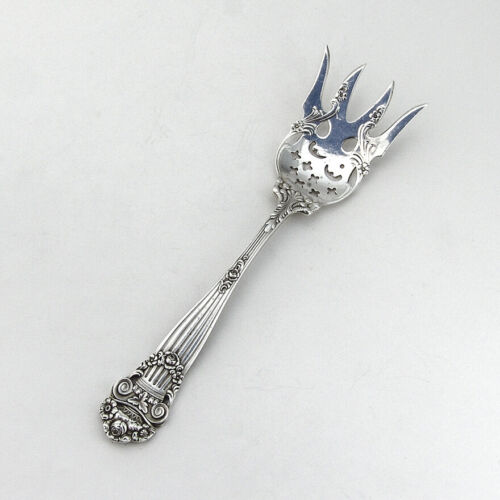 Towle Georgian Small Chipped Beef Fork Sterling Silver Pat 1898