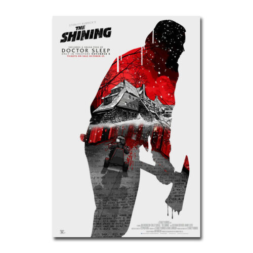 The Shining Horror Movie Poster Art Silk Canvas Film Poster Print 32x48 inch