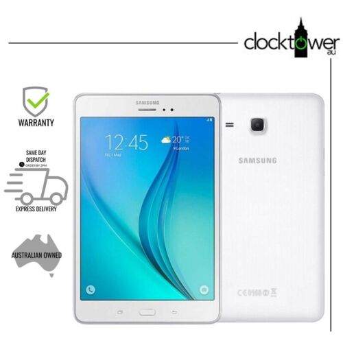 "Samsung Galaxy Tab A 9.7"" SM-T550 WiFi 16GB White Good Condition AU Model"