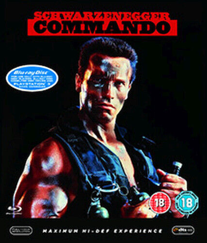 COMMANDO BLU-RAY [UK] NEW BLURAY