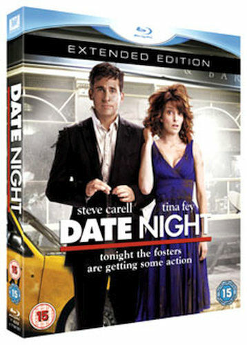 DATE NIGHT - EXTENDED EDITION BLU-RAY [UK] NEW BLURAY