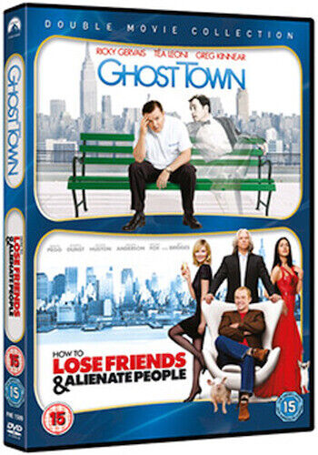 HOW TO LOSE FRIENDS AND ALIENATE PEOPLE / GHOST TOWN DVD [UK] NEW DVD