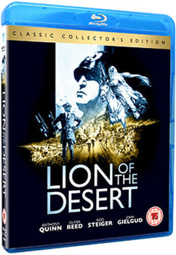 LION OF THE DESERT - COLLECTORS EDITION BLU-RAY [UK] NEW BLURAY