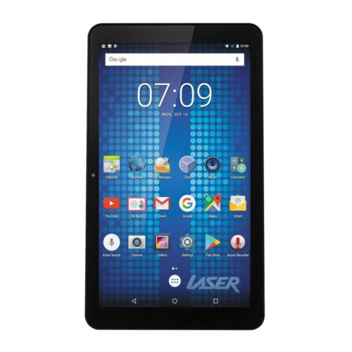 """New Laser 10"""" Android 10 Tablet 16GB Quad Core WIFI Bluetooth GPS IPS Screen"""