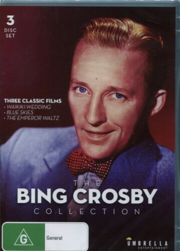 THE BING CROSBY COLLECTION - THREE CLASSIC FILMS - 3 DVD's
