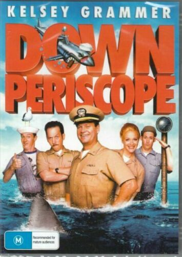 Down Periscope DVD Kelsey Grammer Brand New and Sealed Australia
