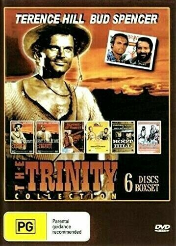 Terence Hill & Bud Spencer The Trinity Collection 6 DVD Set Brand New Australia