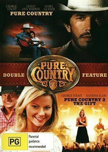 Pure Country / Pure Country 2: The Gift DVD Set Brand New and Sealed Australia